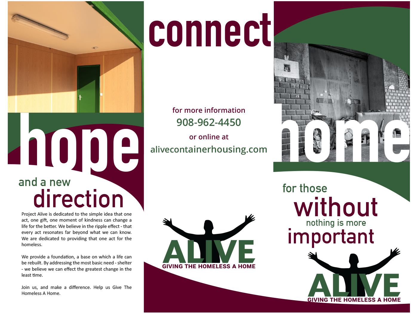 Project: Alive Trifold
