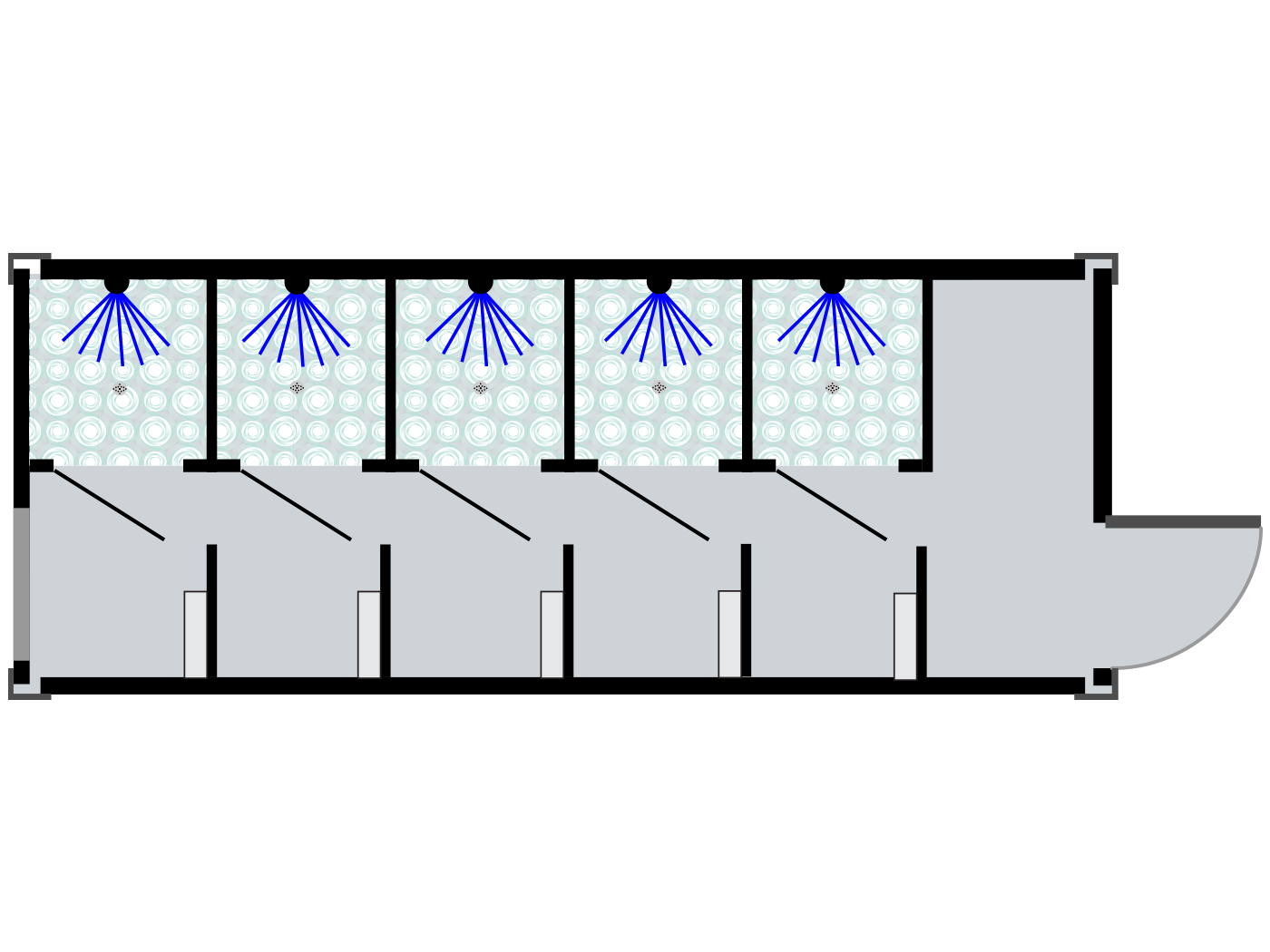 Project: Alive Urban MultiHouse Shower Unit