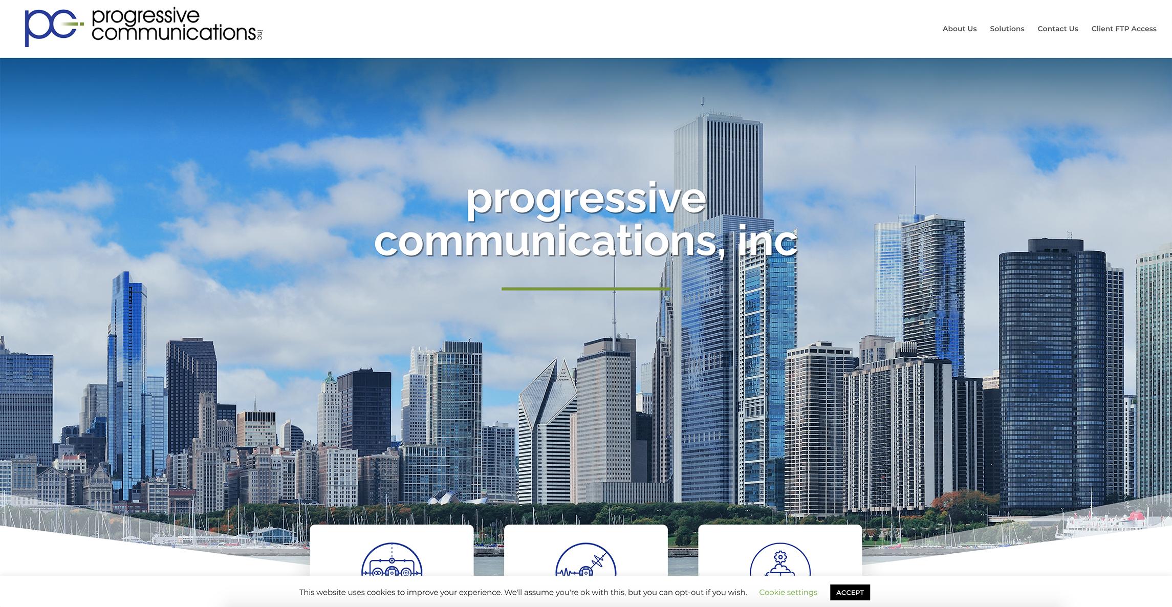 PCI website screenshot